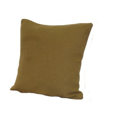 Highlander Pillow Size: 18 x 18, Color: Olive