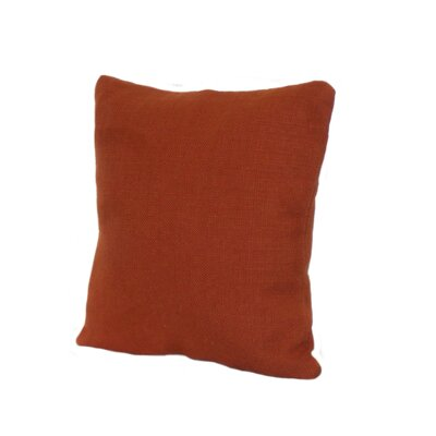 Highlander Pillow Size: 18 x 18, Color: Rust