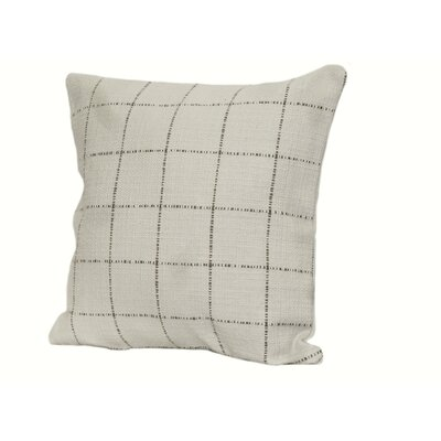 Highlander Plaid Throw Pillow Size: 18 x 18, Color: Soft Blue