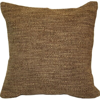 Woodlands Throw Pillow Color: Brown