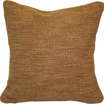Woodlands Throw Pillow Color: Coral / Brown