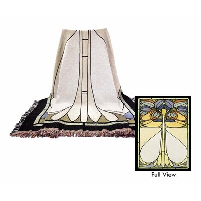 Art Nouveau Cotton Throw