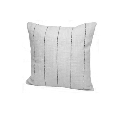Highlander Striped Throw Pillow Size: 24 x 24, Color: Black