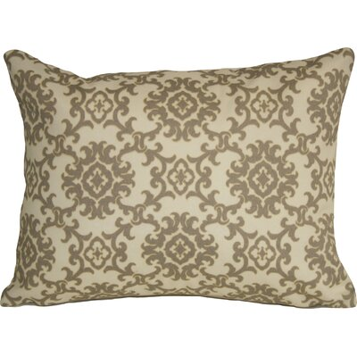 Coastal Medallion Indoor/Outdoor Lumbar Pillow Color: Sand