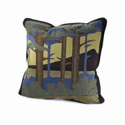 Motawi Landscape Throw Pillow