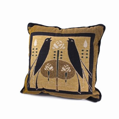 Motawi Songbirds Throw Pillow