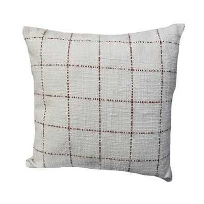 Highlander Plaid Throw Pillow Size: 24 x 24, Color: Rust