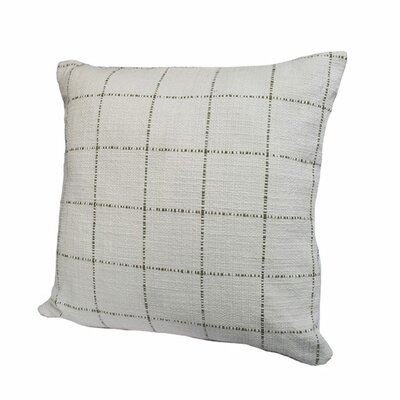 Highlander Plaid Throw Pillow Size: 18 x 18, Color: Olive