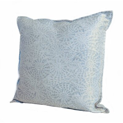 Coastal Tide Pool Throw Pillow Size: 18 x 18, Color: Surf / Blue