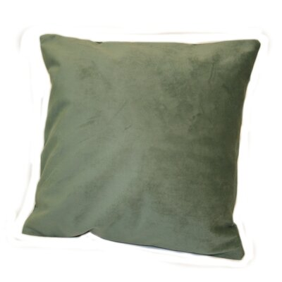 Woodlands Plush Throw Pillow Color: Birch / Teal
