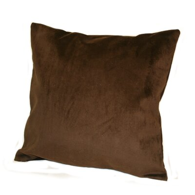 Woodlands Plush Throw Pillow Color: Mahogany