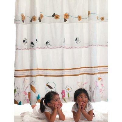 Buy Low Price India Rose Morning Bun Shower Curtain