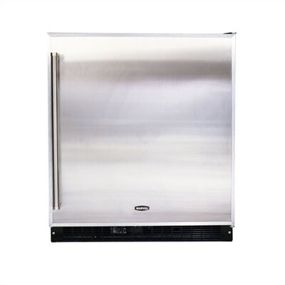 8.0 Cu. Ft. Refrigerator Color: Stainless Steel  Hinge: Right