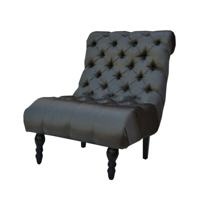 Buckingham Escape Slipper Chair Upholstery: Shadow