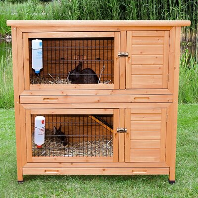 Lowman 2-in-1 Small Animal Hutch