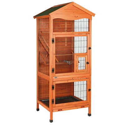Lucille Aviary Free Standing Bird Cage