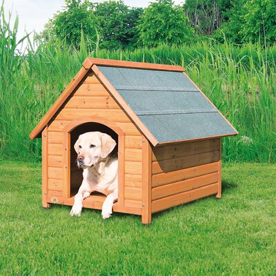 Log Cabin Dog House Size: Large (34.25 H x 32.5 W x 39.75 D)