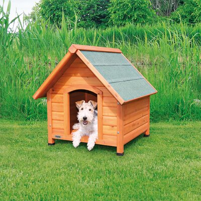 Log Cabin Dog House Size: Small (30.25 H x 27.75 W x 29.75 D)