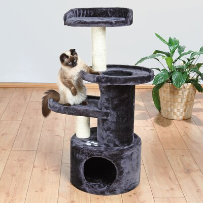 41 Oviedo Cat Tree Color: Dark Gray