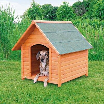 Log Cabin Dog House Size: X-Large (41.25 H x 37.75 W x 44 D)