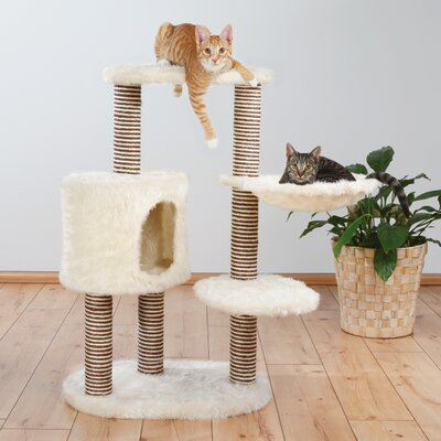 Lyle 39 Moriles Cat Tree Color: Cream