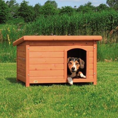 Dog Club House Size: Medium (22.75 H x 33.25 W x 23.5 D)
