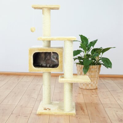 43 Palamos Cat Tree Color: Beige