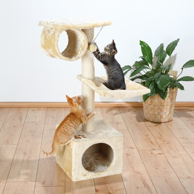 42 San Fernando Cat Tree Color: Beige