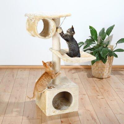 Lupo 42 San Fernando Cat Tree Color: Beige