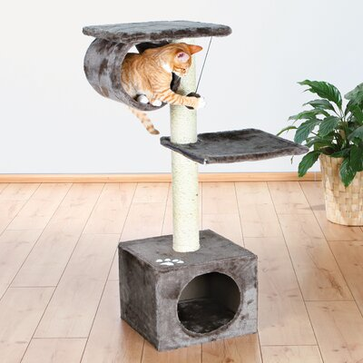 42 San Fernando Cat Tree Color: Gray