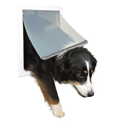2 Way Dog Door Size: Medium- Extra Large (17.5 H x 15.25 W)