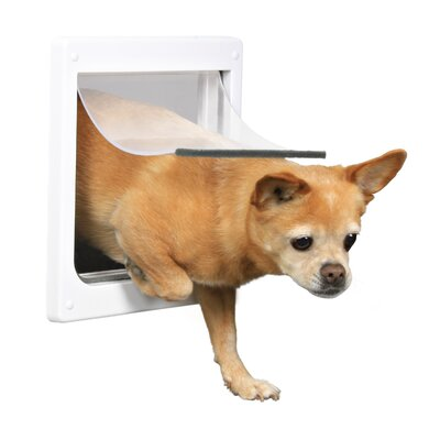 2 Way Dog Door Size: Extra Small-Small (11.25 H x 9.75 W)