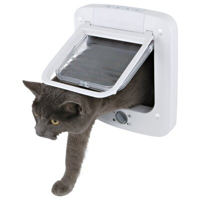 4 Way Cat Door with Rotary Lock
