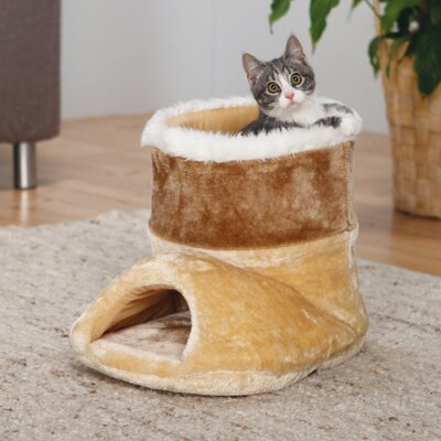 Cuddly Boot Cat Condo