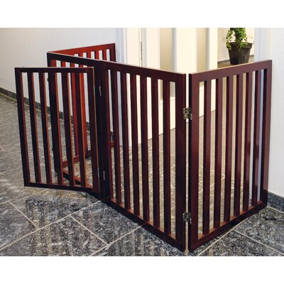 Luann Convertible Wooden Dog Gate