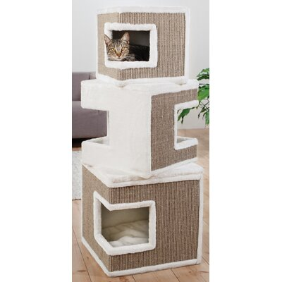 Lutz 48.25 Lilo Modular 3-Story Cat Condo