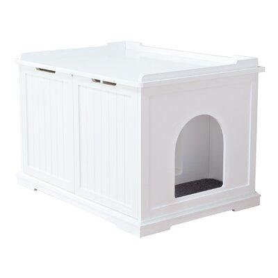 Litter Box Enclosure Color: White