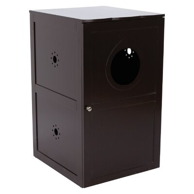 Litter Box Enclosure Color: Brown