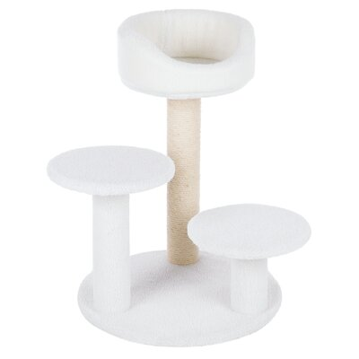 Madeline Cat Scratching Post Color: Cream