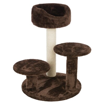 Madeline Cat Scratching Post Color: Brown