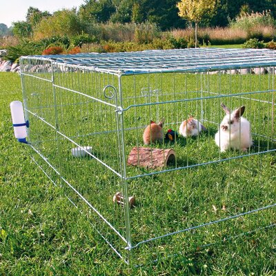 Natura Rabbit Cage with Outdoor Run