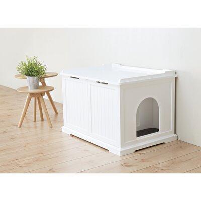 Loyd Litter Box Enclosure Color: White