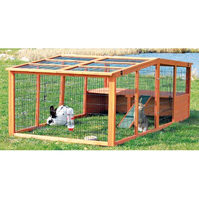 Lowman Extra Large Outdoor Run with Mesh Cover