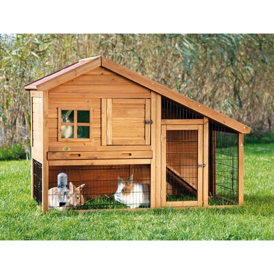 Lowman Small Animal Hutch with View