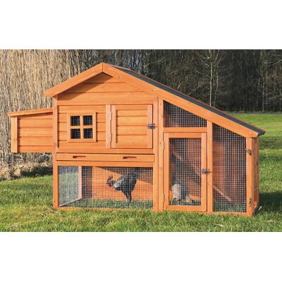 Trixie Chicken Coop  Finish: Glazed Pine