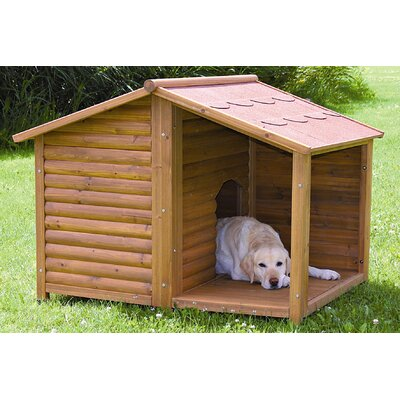 Rustic Dog House Size: Large (39.25 H x 51 W x 41.25 D)