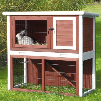 Martel Small Animal Hutch with Sloped Roof