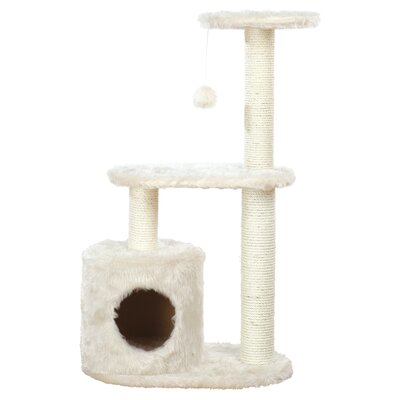 Casta 37 Cat Tree Color: Cream