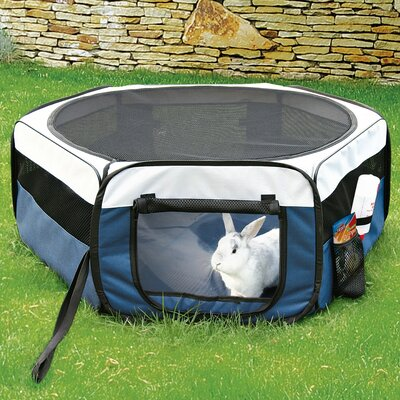 Mabie Soft Sided Mobile Play Pet Pen Size: Large (21.5 H x 51 W x 51 L)