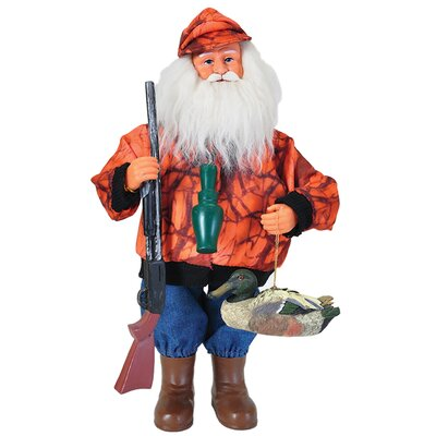 "15"" Duck Hunter Santa 6348"